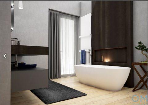 مدل آماده سرویس بهداشتی و حمام مدرن در اسکچاپ