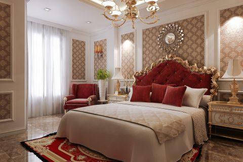 اتاق خواب کلاسیک #11 در اسکچاپ