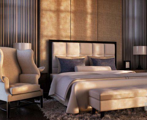 طراحی اتاق خواب #13 در اسکچاپ