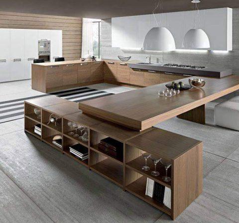 صحنه آشپزخانه مدرن #1 در اسکچاپ