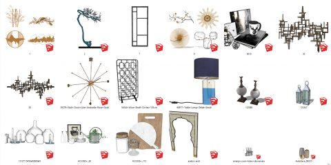 آبجکت با کیفیت برای تزئیینات و دکوراسیون داخلی 01